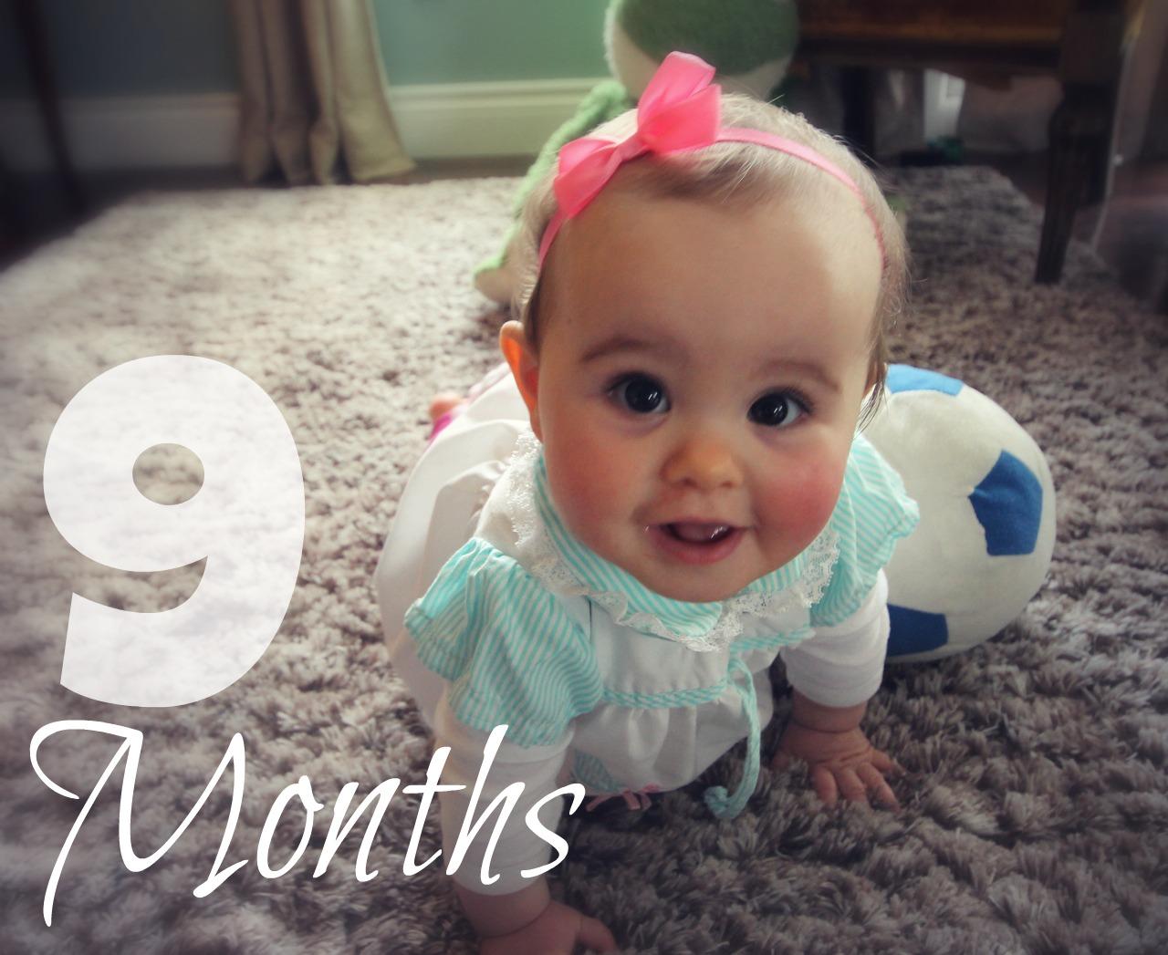 9 месяцев девочке поздравления фото